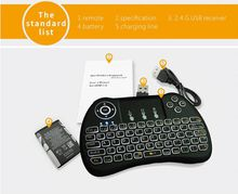Air Mouse Keyboard Remote Control Touchpad For Android Box TV 3D Game Tablet Pc