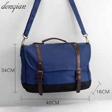 version of the men's shoulder bag large-capacity high-quality Messenger cute handbag diagonal package casual Fashion