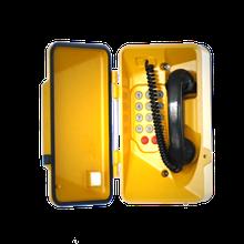 Sanzhou Topaz Metal Yellow Waterproof Telephone Analog IP67 industrial Dustproof