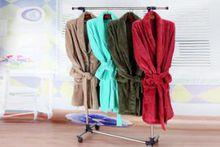 Beibei fleece bathrobe