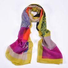 Incarton 190*70CM Fashion Women Long Scarf Polyester Cape Spring Cappa palestinian scarf