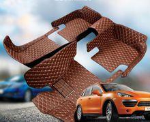 5D Leather XPE Car Floor Mats for Mercedes Benz C class 2015
