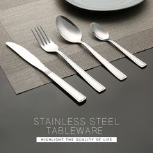 Family Hotel Restaurant polished stainless steel cutlery 201 stainless steel cutlery