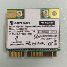 RT3090 AW-NE762H 802.11bgn,IEEE802.11b/g/n Mini-PCIe Half Size Wireless Lan Card