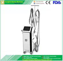 Free shipping CE LVD RCM 2 years warranty 4 techonogy in 1 machine vacuum RF 940nm laser 40Khz supesonic velashape vacuum slimming machine