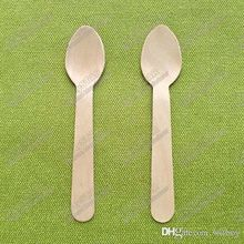 14000#, 5 inches of wooden fork wooden spatula is a disposable wooden tableware that can biodegrade the custom logo