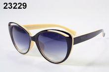 Top sunglass big frame beach Sun Glasses Women French brand Design oculos De Sol Vintage Sun glasses Female Fashion Shades