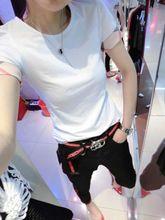 2018 Summer Womens Brand 100% Cotton Tshirts Fashion Plaid Short Sleece O-Neck Ladies Tops Tees Black White Women's T-Shirt S-XXL