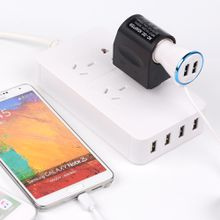 5V 6.5A Universal Mini USB Car Charger 4Port, 4 USB Car Charger for All Devices Apple iPad 4 iPad mini