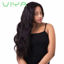 VIYA Malaysian Body Wave Virgin Hair Weaving 3 PC Inch Natural Color Unprocessed Human Hair