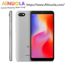 "Xiaomi redmi 6A 2GB 16GB Helio A22 Quad Core 5.45"" full screen face unlock mobile phone"