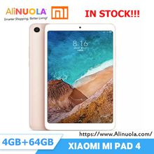 "Original Xiaomi Pad 4 is in stock,8"" Wifi LTE 4GB 64GB Snapdragon 660 AIE 13MP+5MP AI Face Metal Body / Ultra Narrow Frame Tablet PC PAD"