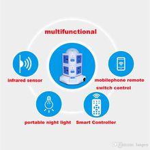 Portable WiFi Wireless Repeater Router Socket Smart Monitor invigilator Watcher WiFi Wireless Smart Power Strip Sockets EU US Plug