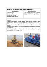 BEARING(NUP464777Q4/C9YA4)FOR BOMCO F-1600HL MUD PUMP