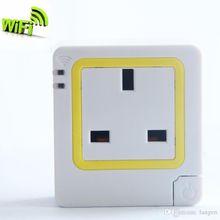 WiFi Wireless Smart Power Strip Sockets EU US Plug