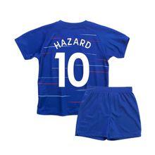 Children Hazard Jerseys 2019 Kids Kante Fabregas Moses Willian Giroud Soccer jersey kits