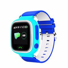 Q90 Kids Smart GPS Watch Phone Positioning Fashion Children Watch 1.22 Inch Color Touch Screen WIFI SOS Kid's Gift