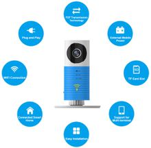 Baby Sleep Monitor WiFi IP Camera Baby Monitor With Two-way TOPS Audio Motion Detection Night Vision