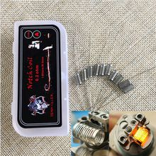 Electronic Cigarette Heating wires Demon Killer Notch Coil SS316L 0.2ohm premade Pre-built coils big smoke for RDA RBA Atomizer