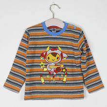 Cotton Spring Long Sleeved T Shirt The Flash Comics Moive Boys Girls T-Shirt Korean Kids Wear Boys Cartoon Clothes