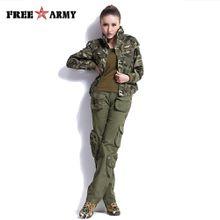 FREEARMY Plus Size Womens Pants Casual Khaki Mid Waist Cargo Pants Military Ladies Pockets Pants Couple's Outdoors Trousers