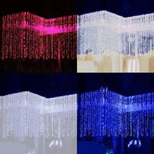 2017 New Fashion 3mx3m 300LED Christmas Decoration Xmas String Fairy Wedding Curtain Light Outdoor Lighting 110V/220V