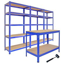 5 Tiers Heavy Duty Wire Shelving & Shelf Rack