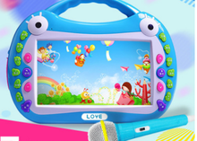 Children's early education story machine touch screen game toys/machine learning a substituting kid-learning toys