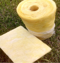 Roof insulating centrifugal glass cotton lap blanket aluminum foil cover glass wool blanket