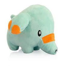 Blue baby elephant toy