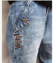 2018 Autumn and winter Baggy Jogger jeans Casual Elastic Harem Pants Hip Hop Taper Pants Men street Trousers Legging Jeans Plus Size 6XL