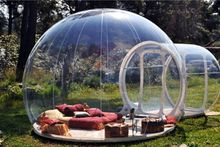 outdoor camping bubble tent,clear inflatable lawn tent,bubble tent