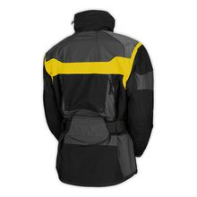 Winter Men Outdoor Windproof Waterproof Breathable Climbing Two-Pieces Jackets Fashion Causal Warm Men's Jackets Blue Yellow S-XXL