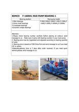BEARING( 23160CA/C3W33)FOR BOMCO F-1600HL MUD PUMP