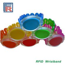 125KHz ABS RFID wristband waterproof for SPA/Fitness/swimming/sauna