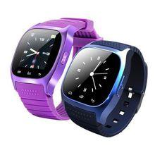 Smart Bluetooth watch waterproof watch phone remote control picture alarm clock