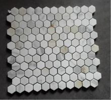 Everlasting Fashionable Hexagon Calacata Gold Mosiac with 25x25mm for kitchen backsplash and bathroom wall and flooring 10pcs/lot