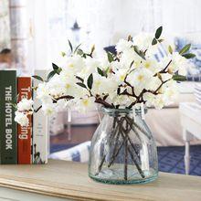 Japanese cherry bloom flower real touch silk made artificial latex organza flower cheap silk flowers wedding centerpiece