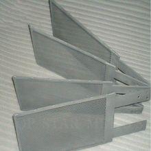 Pure titanium mesh used in electrode