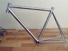 Titanium Trekking Frame Belt Drive Splitter And Titanium Bicycle Frame