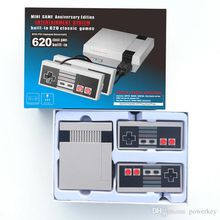 Mini TV Video Handheld Game Console Entertainment System Built-in 620 Classic Games For Nes Games PAL NTSC OTH002