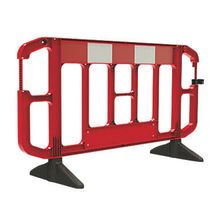 portable temporary concert folding crowd control mojo barrier/traffic road barrier