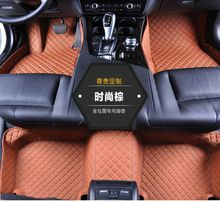 Waterproof Leather XPE Car Mats for BENZ S500 C217 2016 2 doors