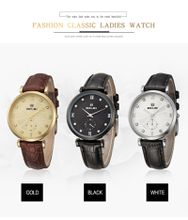 2017 AAA BELBI Fashion Brand Women's Wrist Watches for Ladies Top Brand Name Luxury Wristwatches Montre Femme Leather Quartz Battery Watch