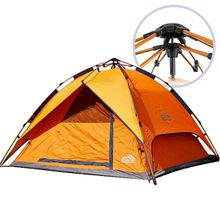 ... Waterproof and Lightweight Pyramid Outdoor c&ing full automatic hydraulic aluminum rod open tents 3-4 people tents double rain ...  sc 1 st  DHport & shyam waterproof works tent Buy shyam waterproof works tent from ...