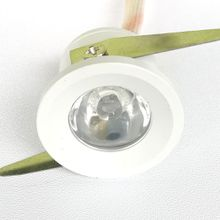 3W mini down light showcase showroom canbinet recessed light ceiling mounted bright light