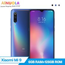 "Original Xiaomi Mi9 Mobile Phone 6GB 128GB Snapdragon 855 Octa Core 6.39"" Mobile Phone In Display Fingerprint NFC 20W Wireless Charging"