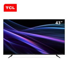 Original TCL 43P6 43 inch 4K ultra-thin TV 64-bit 32-core HDR artificial intelligence LED LCD TV