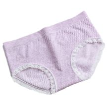 Good Quality Lingerie Underwear Women Panties Soft Breathable Striped Cute Cotton Briefs Low Waist Japanese Style Wholesale