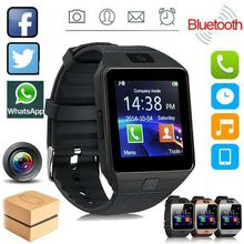 Touch Screen Smart Watch With Camera Bluetooth WristWatch SIM Card Smartwatch For Ios Android Phones